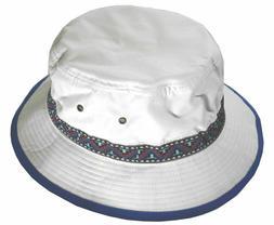 Brushed Microfiber Bucket Hat With Jacquard decorative band
