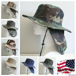 Bucket Booney Mesh Hat Hunting Fishing Army Military Hiking