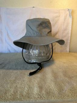 bucket floppy safari hat new gray