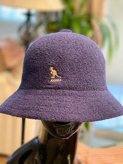 Kangol Bucket Hat Bermuda NAVY Terrycloth Size Large