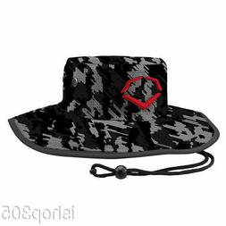 Evoshield Bucket Hat Black Camo Beach Fishing Golf Hat Adult