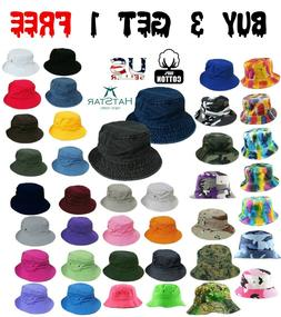 Bucket Hat Boonie Visor Hunting Fishing Outdoor Summer Cap U