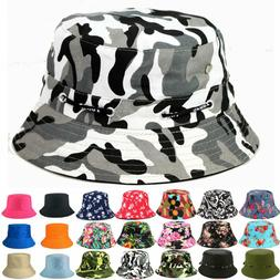 Bucket Hat Boonie Basic Hunting Fishing Outdoor Mens Cap Uni