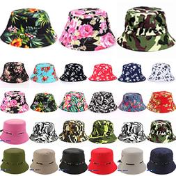 Mens Womens Sun Hats Army Bucket Fitted Festival Summer Holi