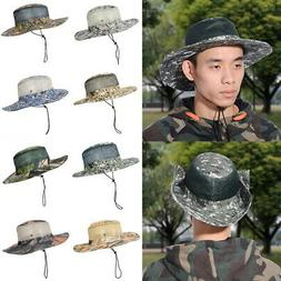 Bucket Hat Boonie Hunting Outdoor Wide Brim Camo Mens Fishin