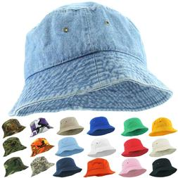 Bucket Hat Cap Fishing Boonie Brim Visor Sun Safari Summer U