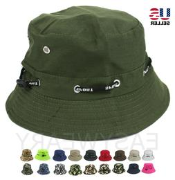 Bucket Hat Cap Sport Fishing Boonie Brim Visor Sun Safari Su