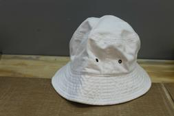 NEWHATTAN BUCKET HAT Color:White Size: L/XL Nwt