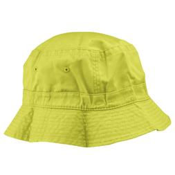 Bucket Hat in Yellow L XL Womens Mens Unisex Trendy Cap