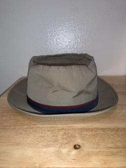 Dorfman Pacific Bucket Hat Khaki Navy Blue Red Fisherman Out