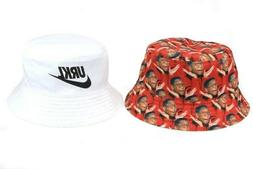 bucket hat reversible urkel pattern