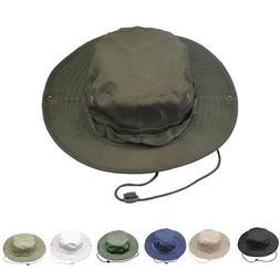 Bucket Hat Wide Brim Boonie Unisex Summer Sun Safari Hunting