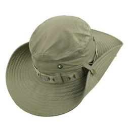 Bucket Hat Wide Brim Cap Hunting Fishing Outdoor Safari Summ