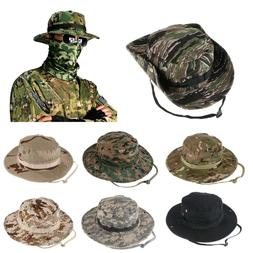 Bucket Hat Wide Brim Military Hats Sun Hat Boonie Hunting Fi