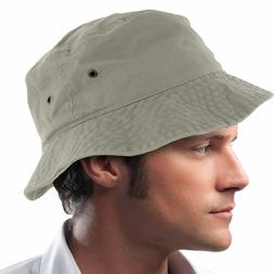 Newhattan Bucket Sun Hat Cap Boonie Cotton Fishing Hunting S
