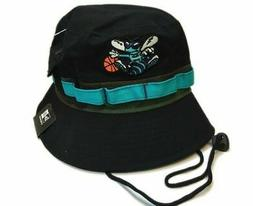 New Era Camo Band Charlotte Hornets Black Adventure Bucket H