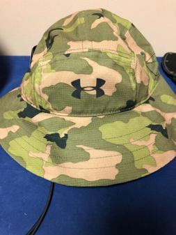 under armour camo bucket hat