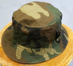 Newhattan Camo Bucket Hat Mens Small / Medium Brand New