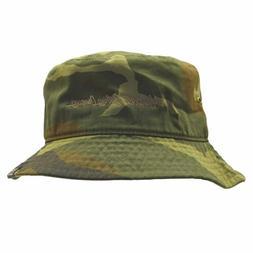 Camo Bucket Hat Shade UV Blocker Fishing Humboldt Clothing C