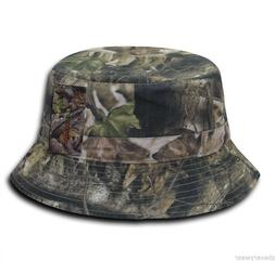 Camo Camouflage Gray Bark Hunting Fishing Hiking Hunt Bucket