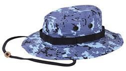 Rothco Camouflage Boonie Hat - Sky Blue Digital Camo, 7.25