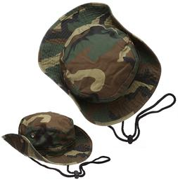 camouflage bucket hat boonie hunting fishing safari