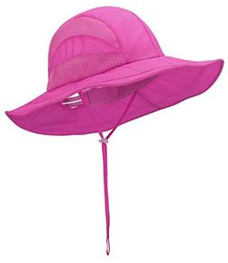 Panegy Women Camping Hat Summer Outdoor Wide Brim UV Protect
