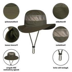 Camping Hiking Sports Men Women Fishing Hats Bucket Boonie W