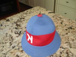KANGOL Casual Bucket Hat-Blue/Red/White-Large-NWOT  *SAMPLE