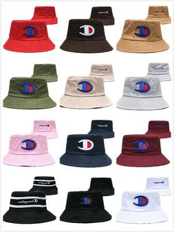 Champion Bucket Cap Fisherman Hat Sun Hat Cotton-Canvas Love