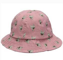 Kangol Chicken Sun Casual Bucket Hat Cotton Print NWT