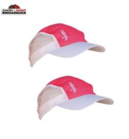 Frogg Toggs Chilly Bean Cooling Hat, Hot Pink and White