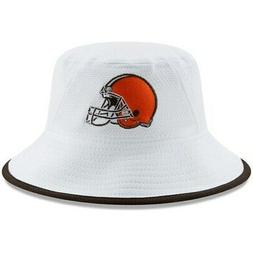 New Era Cleveland Browns White Team Bucket 3 Hat