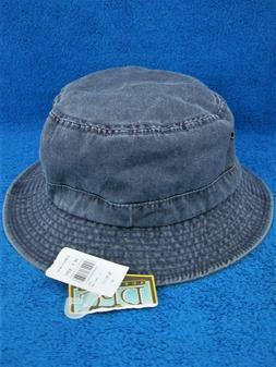 Dorfman Pacific Co. DFC Bucket Hat w/Tags Mens L/XL Dark Blu