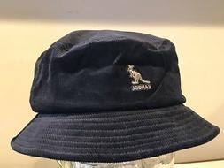 KANGOLCord Bucket BLACK Medium  Cap Hat Medium    NEW