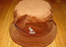 KANGOL Cord Bucket Hat Wood