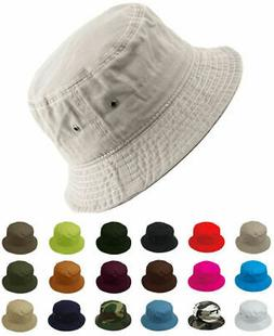 Cotton Bucket Hat Fishing Hunting Summer Travel Fisherman Su