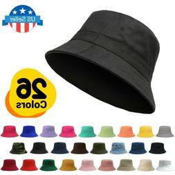 ChoKoLids Cotton Bucket Hat | Packable Summer Travel Hat | F