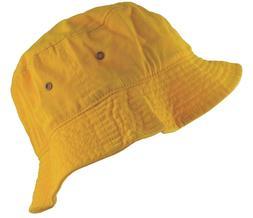 Newhattan Cotton Bucket Hat Yellow