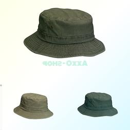 Dorfman Pacific Cotton Packable Summer Travel Bucket Hat Sto