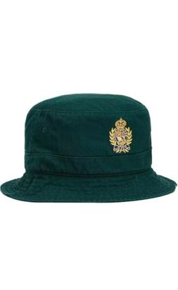 Polo Ralph Lauren Crest Cotton Twill Bucket Hat Golf Beach C