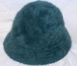 KANGOL crushable furgora LOLA HAT blue-gray NEW WITH TAGS si