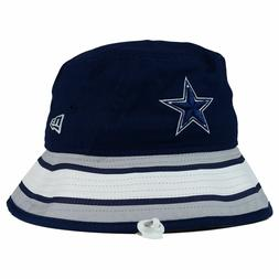 Dallas Cowboys NFL Team Stripe Bucket New Era Training Camp