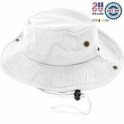 Dealstock 100% Cotton Boonie Fishing Bucket Men Safari Summe