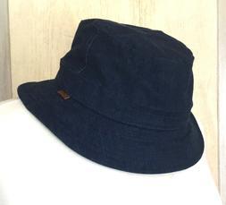 Kangol Demin Bucket Hat Quilted Inside Unisex Medium NWT
