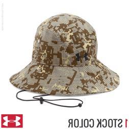 Under Armour Digi Camo Warrior Bucket Hat Fish Hunter Golf 1