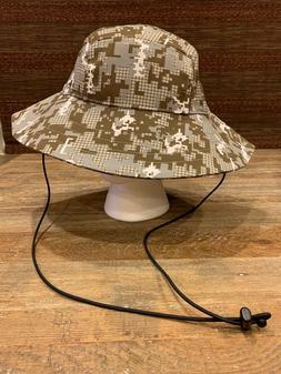 Under Armour Digital Camo Tactical Training Bucket Hat w/Dra