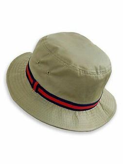 Dorfman Pacific Deluxe Bucket Rain Hats in Tan - 8