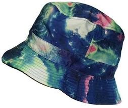 E-Flag Original Adult Reversible Galaxy/Space Bucket Hat #93
