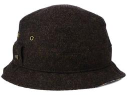 NEW ERA EK - Men's Brown Finn Bucket Hat With Paisley Under
